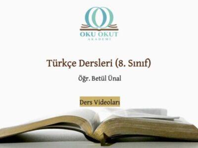 Türkçe Dersleri (8. Sınıf)