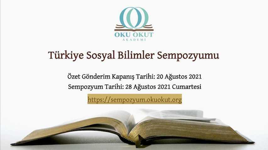 Türkiye Sosyal Bilimler Sempozyumu | Çağrı Metni