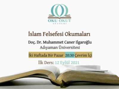 İslam Felsefesi Okumaları 2021-2022