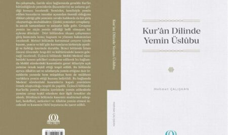 'Kur'ân Dilinde Yemin Üslûbu' kitabı yayımlandı